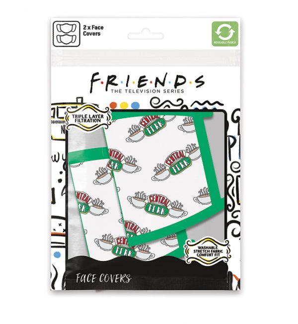 Friends central perk face mask 2